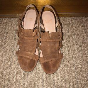 Stuart Weitzman fringe sandals 6.5